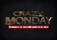 Crazy Monday - Hot Deal Mùa Đông Cực Khủng